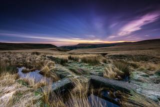 marsden moor dawn