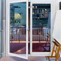 Balcn (Balcony), watercolor on paper, 2011 // by Joaquin Urea (mike catalonian) Tags: watercolor spain 2011 2010s joaquinurea