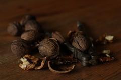 the nutcracker (notpushkin) Tags: autumn winter food brown 50mm essen nuts nutcracker nsse walnsse nussknacker