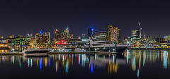 Melbourne from Waterfront City (PhilT2013) Tags: melbourne docklands etihadstadium