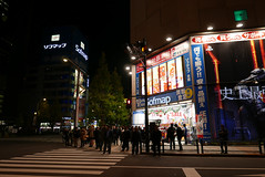 P1020039.jpg (Ryosuke Yagi) Tags: building night buildings tokyo town view shot nightshot scene electronics  akihabara nightscene nightview electronic   electronictown