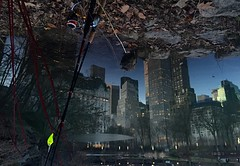 Inverted/Flipped (Kimberly C. Lee) Tags: cityscape centralpark midtown waterreflection winterinnyc midtowneast daiwa watermirror nycwinter winterfishing freshwaterfishing nycfishing nycreflection urbanangling thepondincentralpark centralparkthepond stcroixfishingrod daiwafishingrod allthatshitanyway