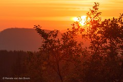 Sunrise Czech Republic (Renate van den Boom) Tags: europa natuur boom bergen zon landschap jaar 2014 tsjechië maand zonsopkomst 05mei