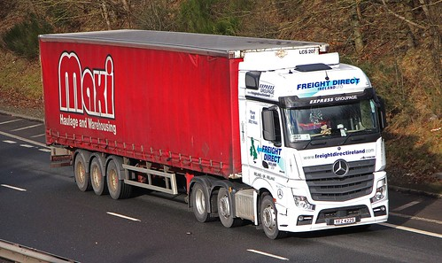 MB Actros MP4 - FREIGHT DIRECT Ireland Larne Co.Antrim NI