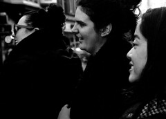 Grafton Street VIII (Owen J Fitzpatrick) Tags: ojf people photography nikon fitzpatrick owen j joe street pavement chasing d3200 ireland editorial use only ojfitzpatrick eire dublin republic city candid tamron nightlife social unposed man woman women beauty beautiful attractive female male asian hair profile grafton highstreet laugh face laughter viii 8 eight candidphoto candidphotography candidportrait natural blancoynegro pretoebranco schwarzundweis  hiybi  hi y bi blackandwhite nigra kaj blanka    aswd w abyad czarny biay