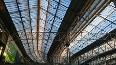 London Waterloo Station Roof (71B / 70F ( Ex Jibup )) Tags: bridge roof brick abandoned station stone facade buildings industrial arch structures bridges arches architectural span timbers disrepair