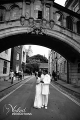 The Bridge of Sighs, Oxford - Rupesh and Virgina's wedding day in Oxford by Veiled Productions - wedding photography and videography Cambridgeshire