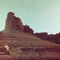 (Joann Edmonds) Tags: arizona southwest 6x6 film nature mediumformat landscape lomo lomography desert roadtrip yashica leesferry rockformation marblecanyon grandcanyonnationalpark americansouthwest iso25 desertlife redscale yashica12 lomoredscalexr120