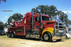 photo by secret squirrel (secret squirrel6) Tags: rescue paint flash hellboy towtruck custum kenworth wrecker secretsquirrel6truckphotos craigjohnsontruckphotos