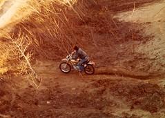 Steve Prairie Dirt Biking (NESR 1978) Tags: bike vintage honda japanese winnipeg motorcycles oldschool manitoba dirt motorcycle biker dirtbike prairie bikers nesr nesr1978