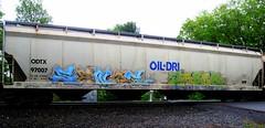sence - jaber (timetomakethepasta) Tags: train graffiti oil hopper dri freight sence jaber oildri odtx