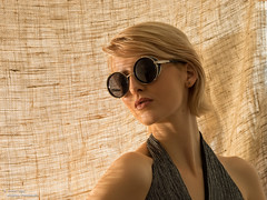 Summer Fashion (trevager) Tags: portrait london fashion studio model olympus blonde strobes summerlook bermondseyprojectspace modelambertutton