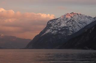 Sunset on Mt Moregallo