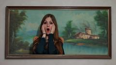68/366: Skrik - Andrea Munch (Andrea  Alonso) Tags: painting 50mm photo picture edvard 365 munch grito pintura cuadro skrik elgrito 366 68365 68366