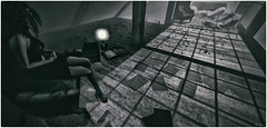 Our Pages Torn on The Floor (Akim Alonzo) Tags: floor pages scene secondlife torn serein eviana