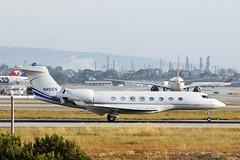Saban Music Group, Inc., Grumman Aerospace GVI (G650) (Ron Monroe) Tags: lax bizjets klax gulfstreamaerospace gvi businessjets g650 corporatejets n451cs sabanmusicgroupinc
