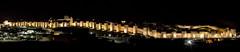 Avila de Noche (The Kerbal Way) Tags: postes cuatro noche avila murallas d3100