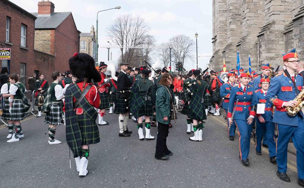 SHORECREST HIGH SCHOOL [ST. PATRICK'S PARADE IN DUBLIN 2016]-112240