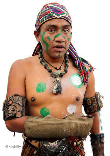 Jugador 2 juego de pelota maya