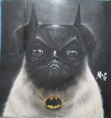Bat Dog Street Art, Bondi Beach, Sydney (Mitchell Landrigan) Tags: streetart sydney bondibeach batdog