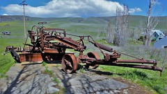 DSC06200 (2) Adams Leaning Wheel Grader No. 22 (Allen Woosley) Tags: road park mountain wheel 22 adams state no columbia hills co wa leaning dalles grader klickitate sn365