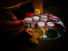Bengali New Year - Colors (willestanvir) Tags: new color colour colors paint colours year celebration bangla shahbag bengali pohela boishakh noboborsho