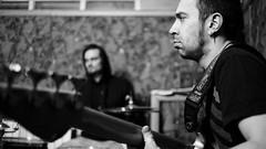 Egor (zabermach.digital) Tags: portrait blackandwhite bw digital nikon dof rehearsal bass bokeh band nikkor d600 35mmf2d darktable jeravu