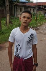 A Mon loacal with thanaka on face (Michael Chow (HK)) Tags: myanmar myanmarburma monstate mawlamyine hpayagon
