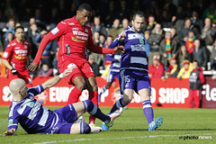 10580924-001 (rscanderlecht) Tags: sports sport foot football belgium soccer playoffs oostende roeselare ostend voetbal anderlecht playoff rsca mauves proleague rscanderlecht kvo schiervelde jupilerproleague