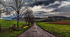 IMG_8277-78Ptzl1scTBbLGE (ultravivid imaging) Tags: road trees clouds rural canon colorful rainyday farm scenic vivid vista fields imaging ultra sunsetclouds stormclouds earlyspring ultravivid canon5dmk2 ultravividimaging