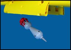 Cherry Bomb (Karf Oohlu) Tags: lego bomb cherrybomb bombsaway moc bombbaydoors