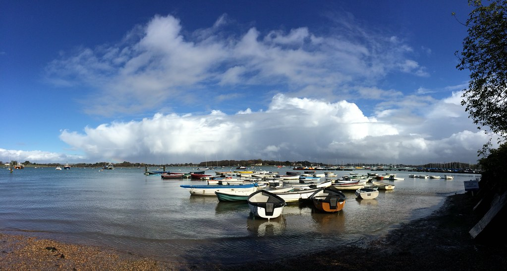 Itchenor harbour at Chichester