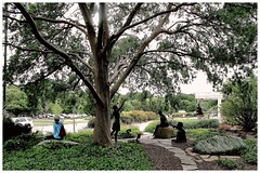 (photo.po) Tags: flowers trees people plants dfw botanicalgardens sculptures tranquil fortworthtx