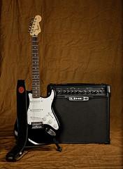 9/52 Guitar and Amp (Stew451) Tags: sb600 d750 2470mm 52weeks pocketwizards su800 sb900 flextt5 minitt1