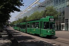 661 (KennyKanal) Tags: tram basel ag grn schindler waggon bvb pratteln basler verkehrsbetriebe schienenfahrzeug drmmli guggumere