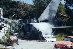 _DSF0484 (zimlorog) Tags: california plane losangeles tour crash universalstudios waroftheworlds backlot