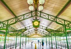 Pure Anticipation - Magic Kingdom Monorail Platform 8:30am HDR (Mickey Views) Tags: morning light train bright florida disney disneyworld anticipation monorail wdw excitement hdr magickingdom hdrdisney wdwhdr mickeyviews