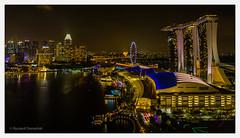 Singapore_07 (Ryszard Domaski) Tags: building architecture singapore buildingstructure buildingcomplex marinabaysands