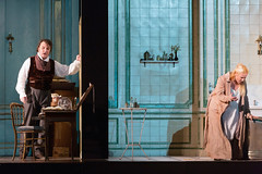 Ludovic Tézier and Diana Damrau in Katie Mitchell's Lucia di Lammermoor ©2016 ROH. Photograph by Stephen Cummiskey (Royal Opera House Covent Garden) Tags: music opera coventgarden royaloperahouse royalopera donizetti luciadilammermoor dianadamrau ludovictézier bykatiemitchell