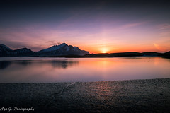 Good morning Hfn (Aga G. Photography) Tags: morning light sea sky panorama sun mountains nature sunrise outdoors colours harbour tranquility clear fujifilm calmness xt10