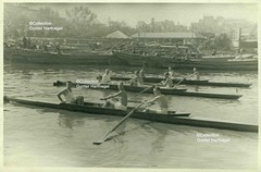 Shanghai, rowing crew of German company Mee Yeh (blauepics) Tags: china family germany shanghai familie picture company crew german rowing historical enterprise firma mee equipe deutsch yeh historisch ruderer companie schanghai