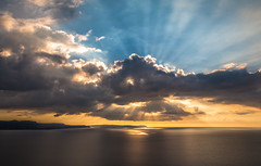 (Freak_Irish_Sister) Tags: sardegna sunset sea beach clouds canon landscape tramonto mare sardinia sigma panoramic panoramica spiaggia hdr nebida sulcis sigma1770mm fontanamare canon70d canon7dmarkii