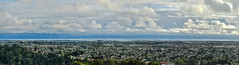 castlemont westward (pbo31) Tags: california blue sky urban panorama color clouds oakland bay airport oak nikon view rooftops over large panoramic bayarea april eastbay stitched alamedacounty 2016 oaklandinternational boury pbo31 d810 castlemont eastmonthills