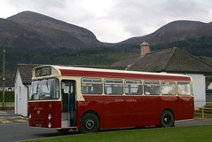 Refreshment halt. (Renown) Tags: irish bus heritage museum newcastle transport restored northernireland preserved 505 preservation parkroyal reliance aec codown devongeneral ctt23c