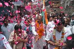 Padyatra Kashmiri Gate J P Agarwal DPCC AICC (J P Agarwal - Naughara Kinari Bazar Delhi India) Tags: j gate p kashmiri agarwal dpcc aicc padyatra
