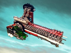 RMX Challenge - Round 3 (Crimso Giger) Tags: lego moc starfighter spacefighter rmxchallenge