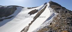 la cresta nord-est del Vallinfante (Roberto Tarantino EXPLORE THE MOUNTAINS!) Tags: 2000 natura neve montagna cima monti cresta passo sibillini cattivo altaquota vallinfante cannafusto