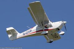 G-CIYP - 2016 build Aeropro Eurofox, climbing on departure from Runway 08L at Barton (egcc) Tags: manchester andrews barton microlight lightroom cityairport aeropro eurofox egcb rotax912 bmaahb677 gciyp
