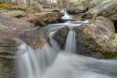 In the path of whitewater (tquist24) Tags: longexposure rock creek river geotagged waterfall nikon rocks stream unitedstates connecticut brook hdr sevenfalls haddam biblerockbrook sevenfallsstatepark nikond5300