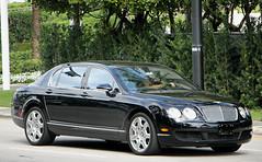 Bentley Continental Flying Spur (RudeDude2140a) Tags: black sports car sedan spur flying continental exotic bentley